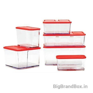 6 Piece Set Refrigerator Food Storage Containers
