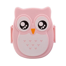 2018 Cute1pc Cartoon Owl Lunch Box Food Storage Container Storage Box Portable Bento Safe Food Picnic Hot Lunchbox Children Gift