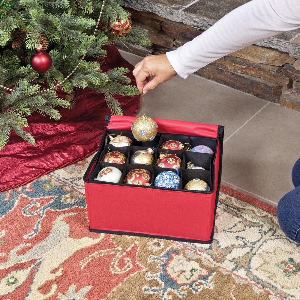 Christmas Ornament Storage Container