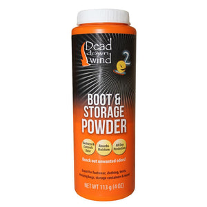 Dead Down Wind Boot/Storage Powder 4 oz.