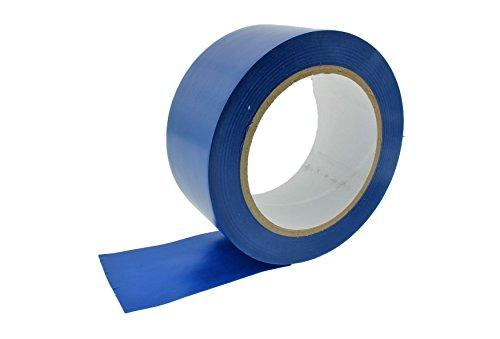 2  Royal Dark Blue Vinyl Floor Tape 7 Mil Rubber Adhesive Sealing Warning Osha Caution Marking Safety Electrical Removable Pvc Tape 36Yd