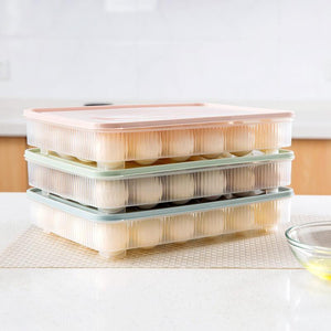 Stackable Refrigerator Egg Storage Container