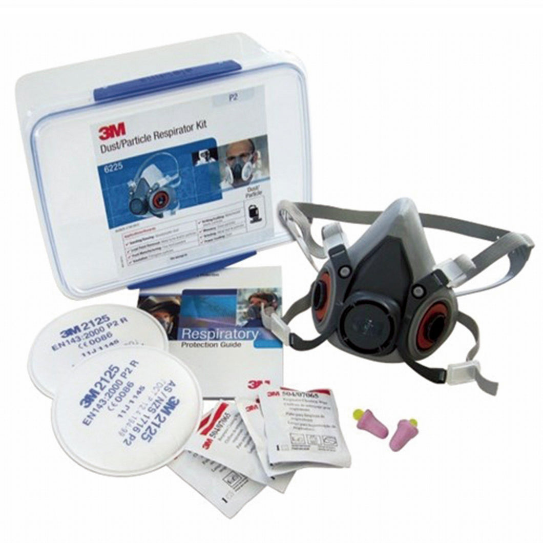 3M Reusable Respirator Starter Kits - Silica Dust & Particle 6225