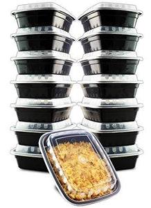 14 Pack- Chefible 12 Oz Small Mini Food Storage Or Bento Container, Bariatric Meal Prep, Durable, Bpa-Free, Reusable, Washable, Microwavable, Perfect For Diet Portion Control!