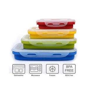 Premium Microwave Lunch Box for Kids & Adults Set of Food Storage Containers
