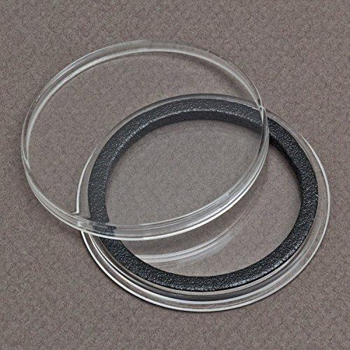 (20) Air-Tite 40Mm Black Ring Coin Holder Capsules For American Silver Eagles & 1Oz China Silver Panda Sterling