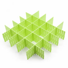 8pcs DIY Plastic Grid Drawer Divider Household Storage ShineMeThickening Housing Spacer Sub-grid Finishing Shelves for Home Tidy Closet Stationary Mak