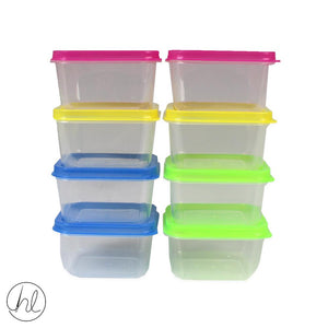 8PC STORAGE CONTAINERS