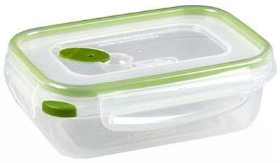 (6) ea Sterilite 03111606 Ultra-Seal 3.1 Cup Rectangular Dry Food Containers