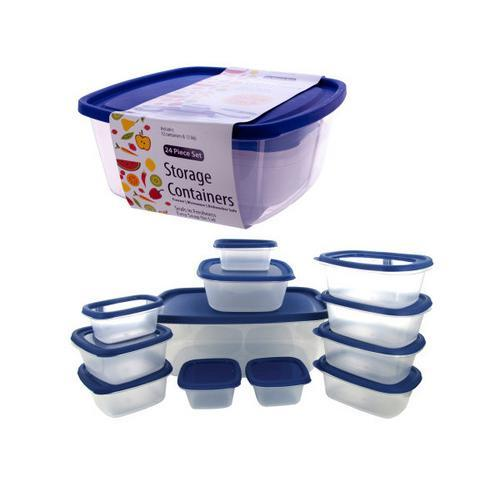Food Storage Container Value Pack ( Case of 3 )