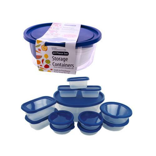Food Storage Containers ( Case of 4 )