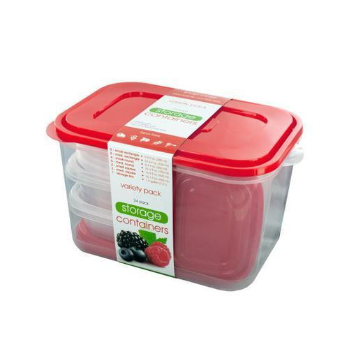 Food Storage Container Variety Set ( Case of 3 )