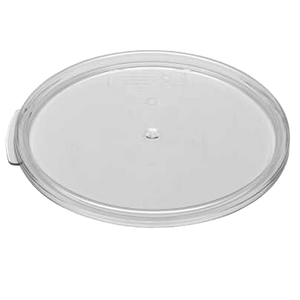 Cambro RFSCWC2135 Camwear Cover, for 2 & 4 qt. round storage container, clear, polycarbonate, NSF