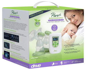 Drive Pure Expressions Dual Channel Electric Breast Pump, rtlbp2000
