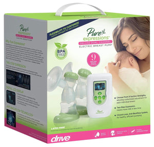 Drive Pure Expressions Deluxe Dual Channel Electric Breast Pump, rtlbp2200