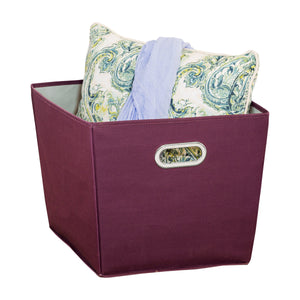 Large Storage Bin, Purple