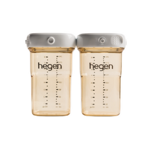 HEGEN PCTO™ 240ML/8OZ BREAST MILK STORAGE PPSU, 2-PACK