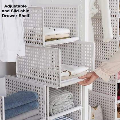 Adjustable and Slid-able Drawer Shelf