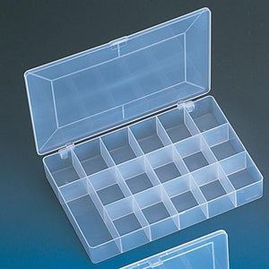 #BX86 Frosted Plastic Storage Box
