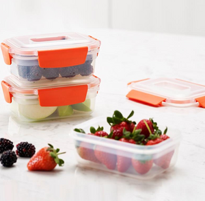 JJ Nest Lock 6 piece Storage Container Set, 540ml