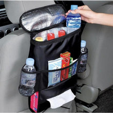 SaicleHome Insulation Cooler Picnic Bag Car Seat Storage Bag Food Summer Travel Storage Container