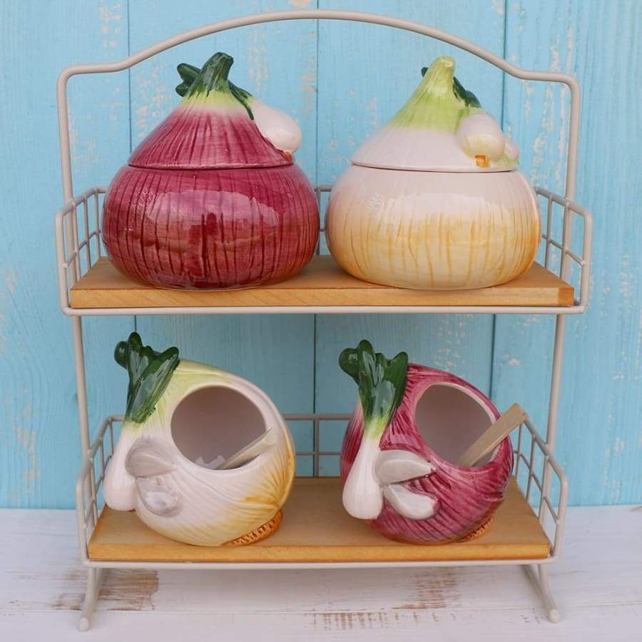 Ceramic Food Design Storage Jars