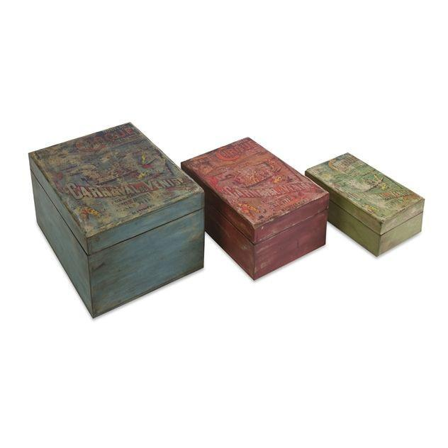 Circus Boxes - Set of 3