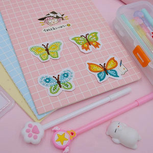 Color Butterfly Stickers (8 Pack) - 5D Diamond Painting