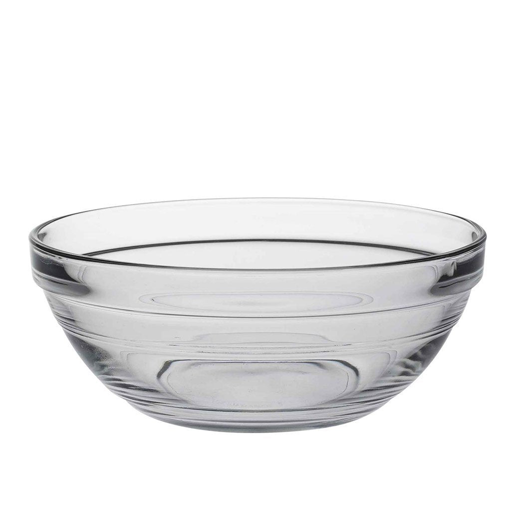 Duralex 140mm Lys Round Stacking Glass Food Serving Bowl