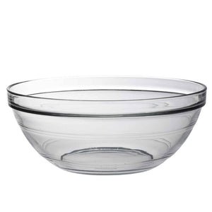 Duralex 230mm Lys Round Stacking Glass Food Serving Bowl