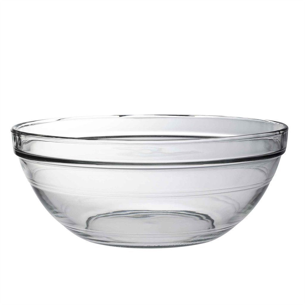 Duralex 310mm Lys Round Stacking Glass Food Serving Bowl