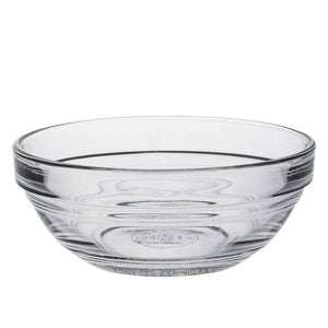 Duralex 90mm Lys Round Stacking Glass Food Serving Bowl