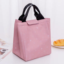 Portable Oxford Lunch Tote Bag Picnic Bag Cooler Insulated Handbag Office Food Storage Container