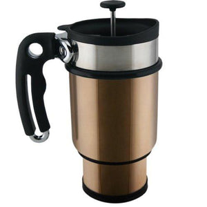Planetary Design Double Shot Travel French Press Mug (14 oz)