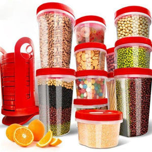 Food Storage Containers BPA Free Leak-proof Plastic Storage Set - 25 Piece