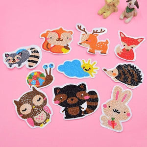 Forest Cuties Stickers (10 Pack) - 5D Diamond Painting