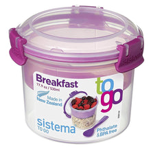 Sistema To Go Collection Breakfast Bowl Food Storage Container