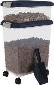 IRIS Airtight Storage Container & Scoop Combo