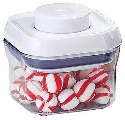 (4) ea OXO 1106040 Pop Small Square Food Storage Containers