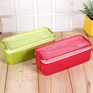 Collapsible Portable Bento Lunch Boxes