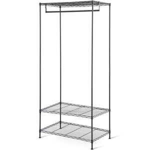 3-Tier Portable Clothing Rack Garment Hanger