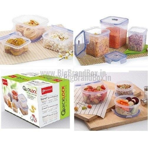 9 Pcs Set Of Air Tight Storage Containers