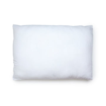 WHITE PILLOW SLIPS 001 (SET OF 2) - Kate James Studios | Linen Bedding