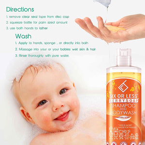 Six or Less Berrysoap Shampoo and Body Wash