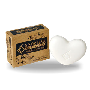 Six or Less Berrysoap Natural Bar