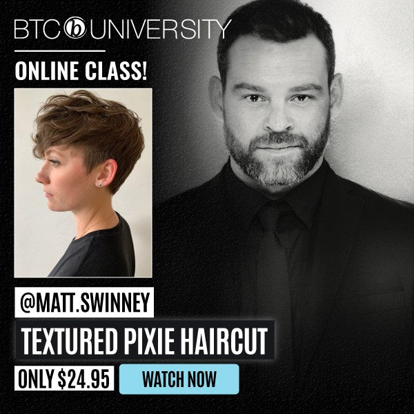 Purchase The Textured Pixie Haircut Tutorial