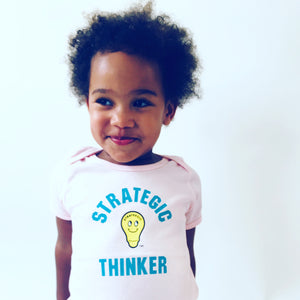 Baby/Toddler Strategic Thinker-Powder Pink