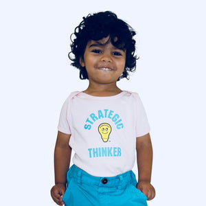 Baby/Toddler Strategic Thinker-White
