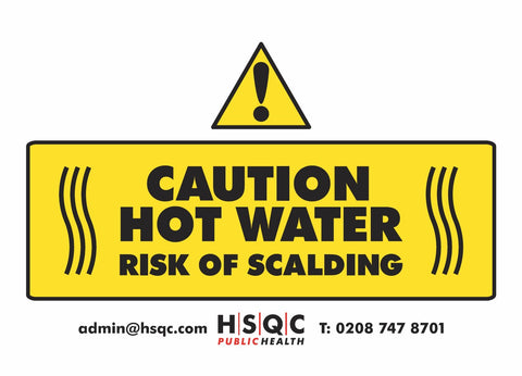 Hot Water Sign