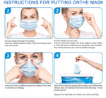 Fabric Face Mask - 3 Layer with Ear loop